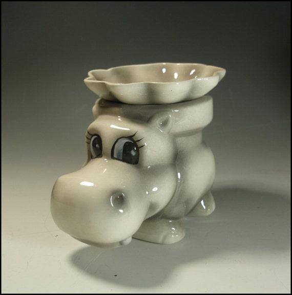 Hippo Miniature African Violet Pot