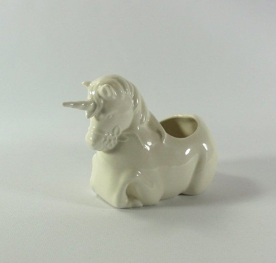 Tiny Unicorn Planter Pot Made To Order