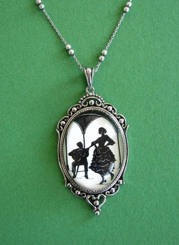 A Night In Seville Necklace, pendant on chain