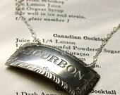 vintage KING COLE COCKTAIL necklace -BOURBON