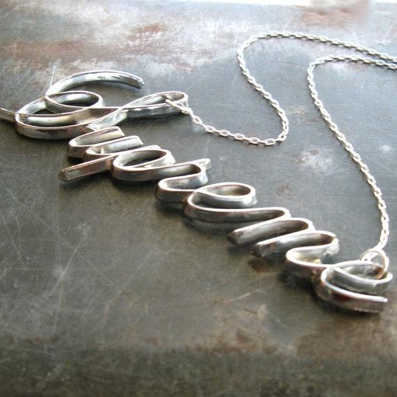 vintage cutlass SUPREME necklace - 1970's