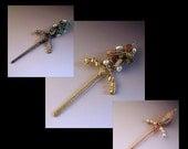 Sword Pendant Wire Jewelry Tutorial