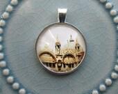 Venice Pendant - Venice Art Pendant - Venice Photo Pendant