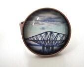 Forth Rail Bridge Ring - Scottish Ring  - Photo Ring