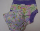 Tulip Whispers Diaper and Cover Set