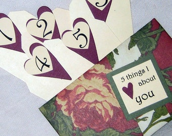 5 Things I Love About You Tag Book