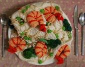Shrimp Scampi Scarf