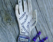 Ceramic  Fortune-Telling Hand  - Custom - Made to Order -
