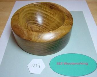 Handmade Locust Wooden Bowl Dish
