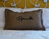 Skeleton Key Pillow