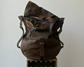 "ships next day - 1903 XL 'three in one'  -  messenger, shoulder bag, and backpack  -  ten pockets plus 13"" laptop pocket"