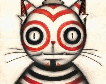 Psycho Kitty (study)