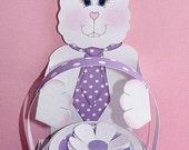 Eggbert The Easter Bunny and Treat Box Printable