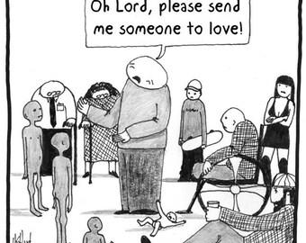 SOMEONE to LOVE CARTOON
