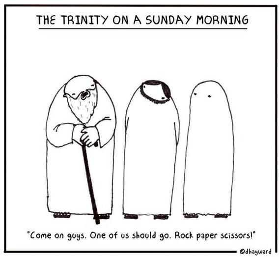 Trinity on a Sunday Morning PRINT