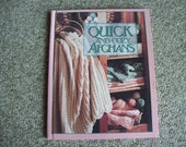Leisure Arts, Quick and Cozy Afghans, Crochet, Hard Back Book,Patterns