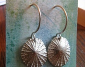 Limpet Sterling earrings CUSTOM ORDER  EVA please only purchase if you are Eva. Convo if you want a pr too