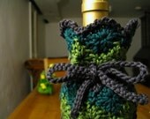 Crochet Pattern - Harlequin Wine Bottle Cozy