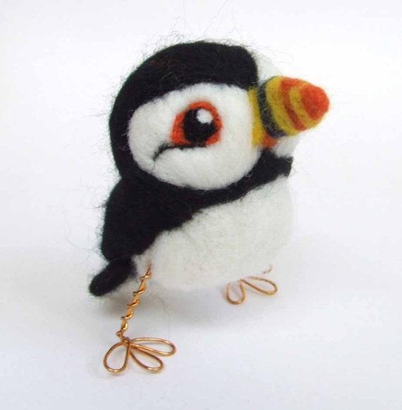Bempton the Puffin Real Bird Tweet