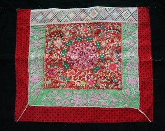 Textiles -  Hmong Baby Carrier/ Hmong / Miao fabric / Hmong embroidery panels - 575