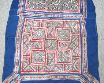 Textiles -  Hmong Baby Carrier/ Hmong / Miao fabric / Hmong embroidery panels - 601