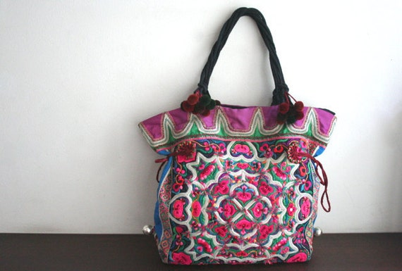 SALE - DAZZLING Tote - Ethnic / Hip / Tribal / Hmong / Miao / Bohemian Tote - 2016