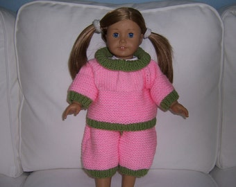 American Girl 2 pc. Knitted Outfit