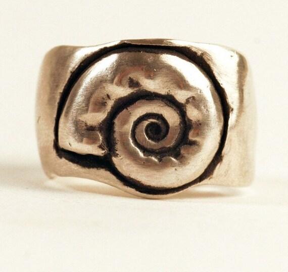 Bumpy Spiral Ring