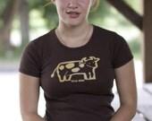 Sweet Brown Cow Women's Short Sleeve Tee