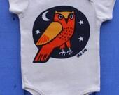 Wise Owl Organic Cotton Infant One pc. Bodysuit