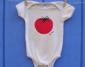 Red Tomato Organic Infant One piece Loves Earth Day