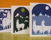Llama Card Set