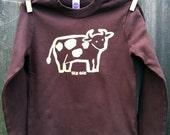 Chocolate Cow Long Sleeve Kid Tee