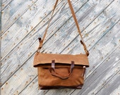 Adrian Two Way purse in Spice Brown