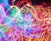 Colorful Camera Throw No. 2--8x12 print