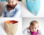 Baby Bib Pattern (bandana bibs, drool bibs)