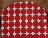 Mei Tai Baby Carrier- Red White Disco Dot