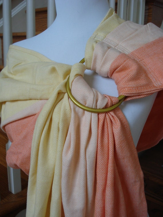 Girasol Wrap Ring Sling Conversion-  Cara Cara, SALE, originally 100