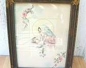 Framed Mary and Baby Jesus Picture