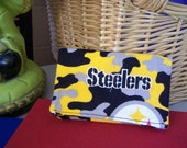 Steelers Fabric Business Card Holder