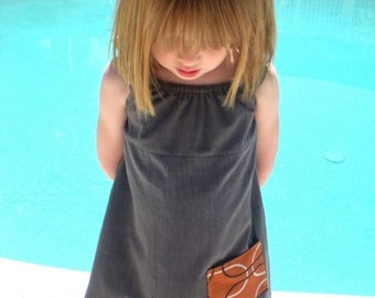 "Fathers day gift dress upcycled ""my Daddy's shirt dress"" recycled  baby girl toddler Spring baby shower gift repurpose birthday"