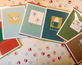 Assorted Christmas Cards - 6 total