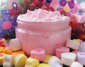 SOAP Whips Body n Bath Frosting in Garden  STRAWBERRY  --Shaving Soap-Body Foam