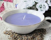 Vintage Narumi Pinecrest Teacup All Natural SOY Candle French Lavender