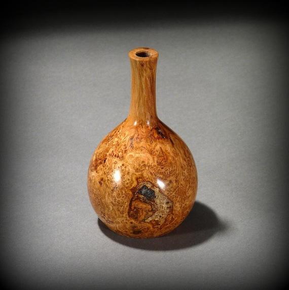 Wood Vase, Cherry Burl (C257)