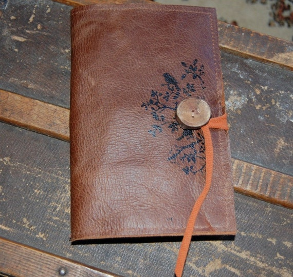 Recycled Leather Notepad Holder
