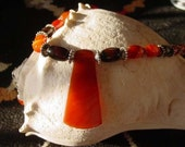 Sardonyx orange and black...