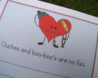 Boo Boos Teacher Notepad
