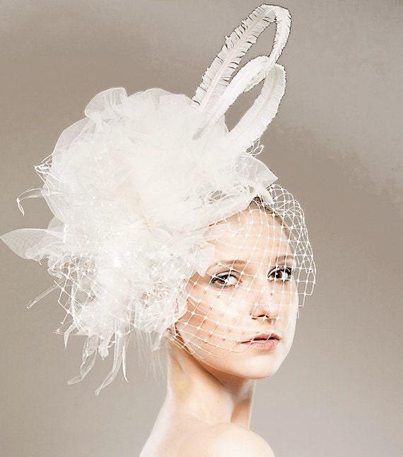 Bride Head Piece: Items Similar To Eco Bridal Head Piece