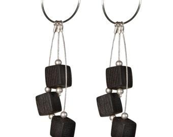 Static Hoop Earrings